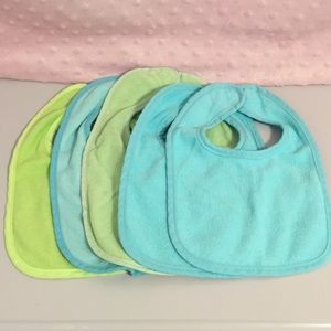 Other - Bib bundle 5 pack - blue and green